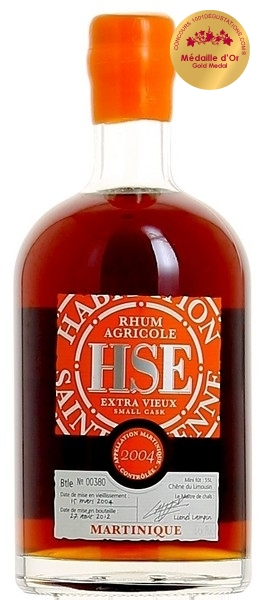 Rhum Extra Vieux HSE - Small Cask 2004