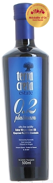 Terra Creta - Platinum 0.2 - Extra Virgin Olive Oil