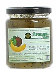 Apollonia Farm - Extra Jam - Kiwi-Apple-Banana