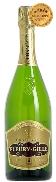 champagne fleury gille grande r serve champagne l 39 avis de 1001 d gustations. Black Bedroom Furniture Sets. Home Design Ideas