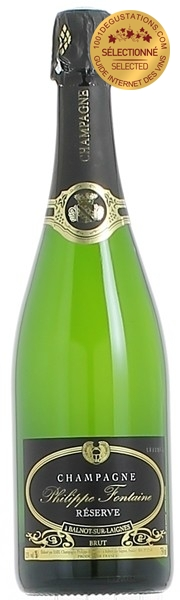 champagne philippe fontaine brut r serve champagne l 39 avis de 1001 d gustations. Black Bedroom Furniture Sets. Home Design Ideas